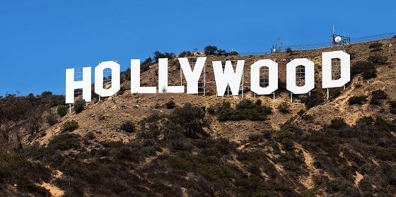 Fotografía del Hollywood Sign, el famoso letrero gigantesco en una colina de Los Ángeles