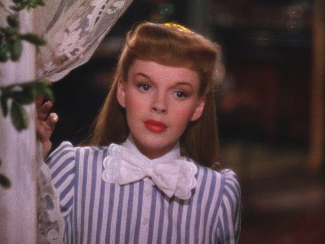 Judy Garland en cita en st louis