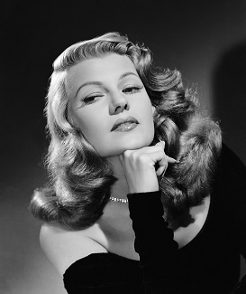 Rita Hayworth, otro de los mayores mitos femeninos del cine clásico de Hollywood