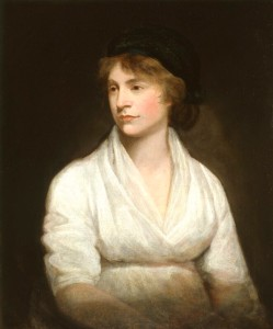 De izquierda a derecha William Goldwin, Mary Wolstonecraft y Mary Shelley