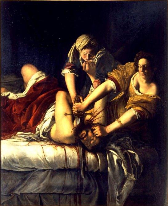 Judith decapitando a Holofernes (1612-1613)